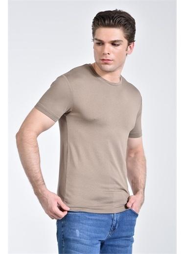 Rodi Jeans Erkek Bisiklet Yaka Basic T-shirt RD21YE278610 Haki